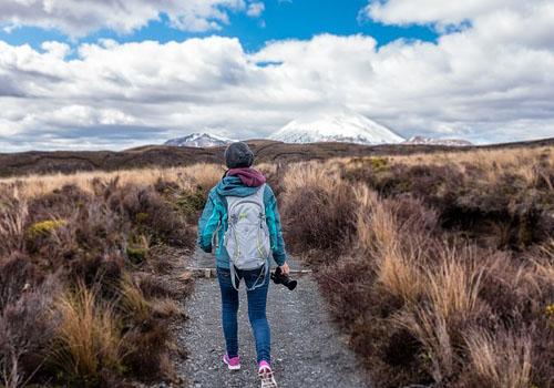 hiking near matanuska glacier