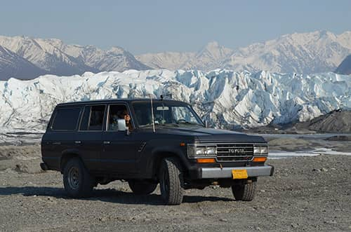 see the matanuska glacier without a guide