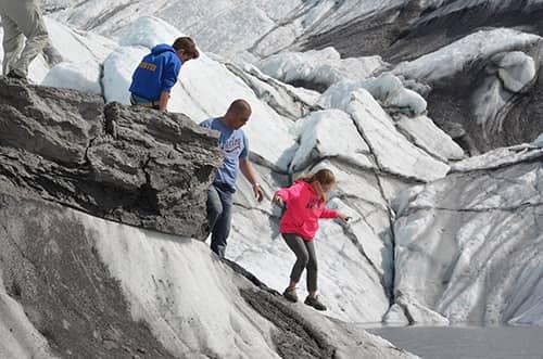 matanuska glacier without a guide